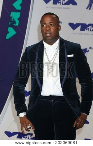 LOS ANGELES - AUG 27:  Yo Gotti at the MTV Video Music Awards 2017 at The Forum on August 27, 2017 in Inglewood, CA