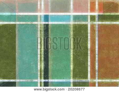 multi-colored geometric image with interesting earthy texture