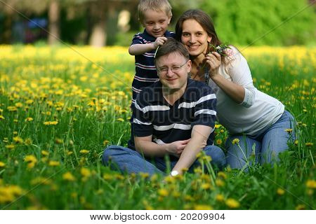 Happy Spring Family