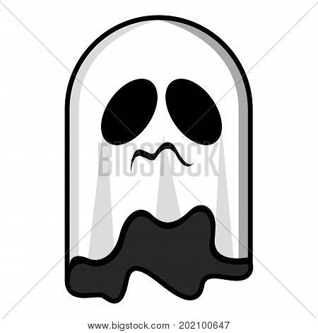 Isolated Ghost Icon