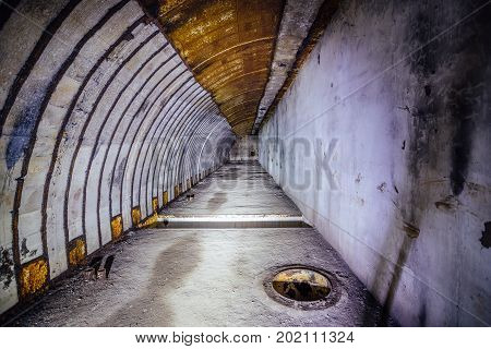 Object 221, abandoned soviet bunker, former reserve command post of Black Sea Fleet, Sevastopol