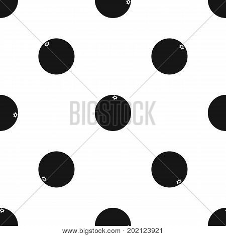 Mandarin pattern repeat seamless in black color for any design. Vector geometric illustration