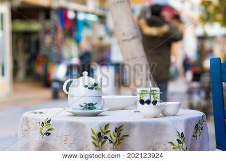 Street scenes in Athens, Greece. Athens. November 15, 2016.
