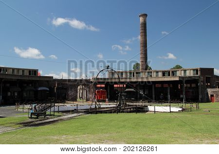 Georgia State Railroad Museum, a National Historic Landmark in the City of Savannah, Georgia