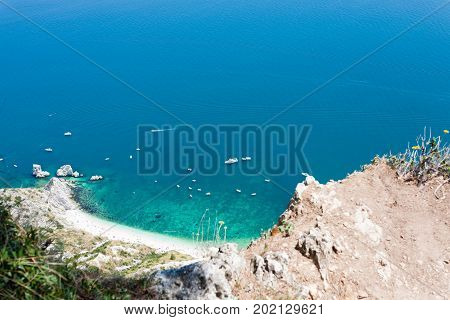Sirolo Beach From Monte Conero, Italy