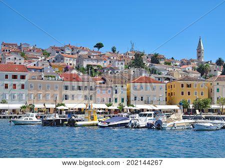 Mali Losinj on Losinj at adriatic Sea,Croatia