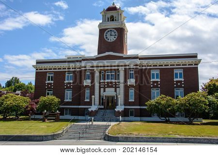 Port Angeles Court House - Clallam County Courthouse, Washington state