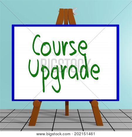 Course Upgrade Concept