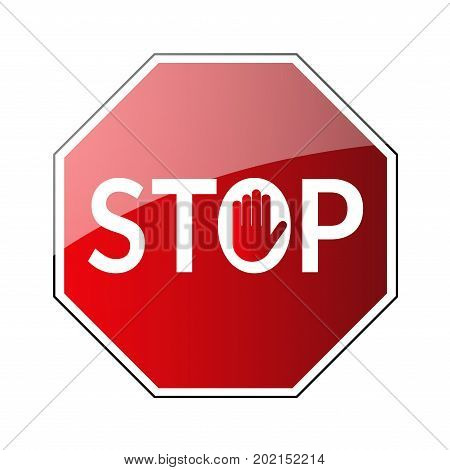 Stop Traffic Road Sign
