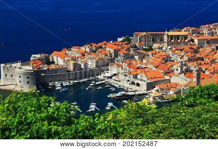 Dubrovnik, Croatia - Beautiful romantic old town of Dubrovnik, Croatia, Europe