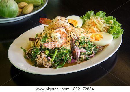 A Good Veggie Spicey Salad vegatable salad.