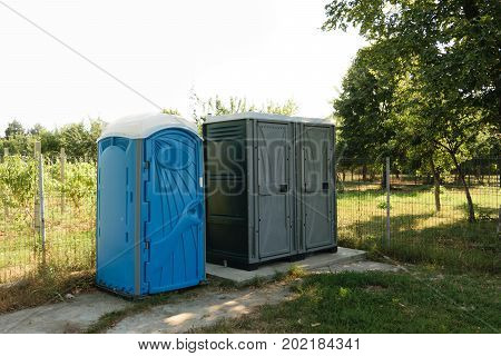 3 public toilets installed in green park