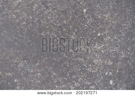 Surface Of Dark Grey Concrete Slab From Above