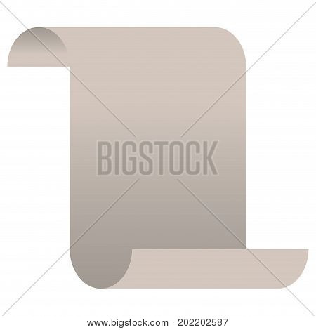 sheet continuously in white background vector illustration