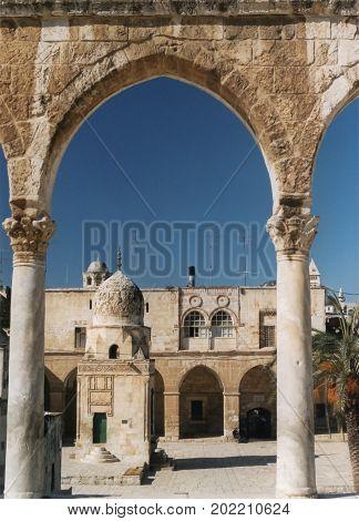Haram as Sharif in the Muslim Quarter of Jerusalem
