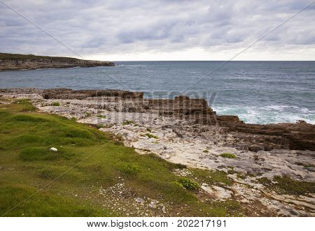 Coast In Cantabria