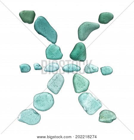 Sea Glass Zodiac Sign