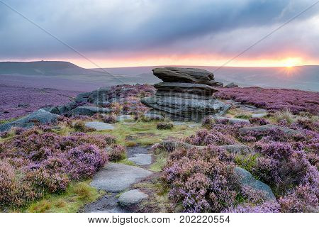 Sunrise At Over Owker Tor