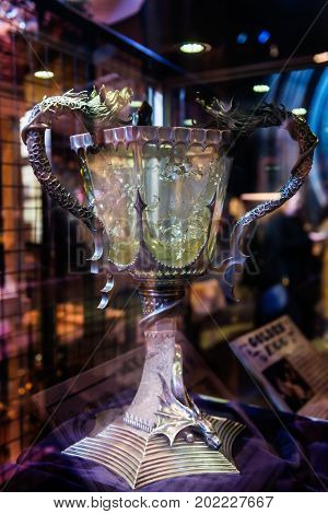 The Set Of Props From Harry Potter Movies, Leavesden, Uk