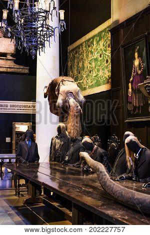 The Set Of Making Of Harry Potter Tour Leavesden, Uk