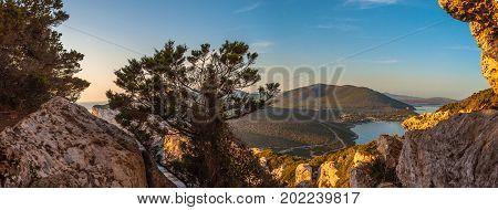 Landscape Of The Gulf Of Capo Caccia