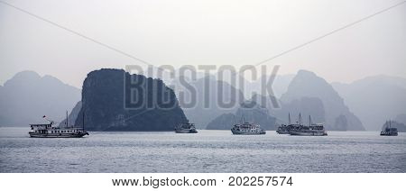 Halong bay, is a UNESCO World Heritage Site, and a popular travel destination in Vietnam. These larger zones share similar geological, geographical, geomorphological, climate, and cultural characters.
