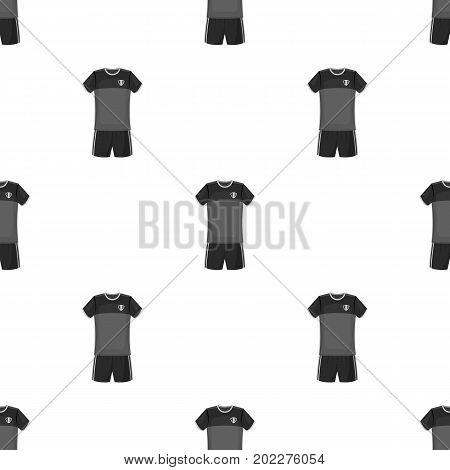 Form of the Belgian football team.The dark Belgian wolf. Belgium single icon in monochrome style vector symbol stock web illustration.