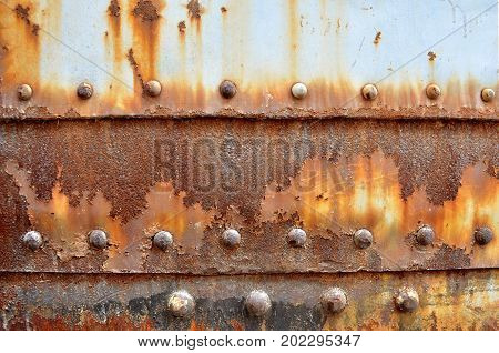 rust on old wall background ,Metal rust Texture, Decay metal Background,old metal iron rust texture