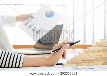 business growth concept employee working hard with passion with passion