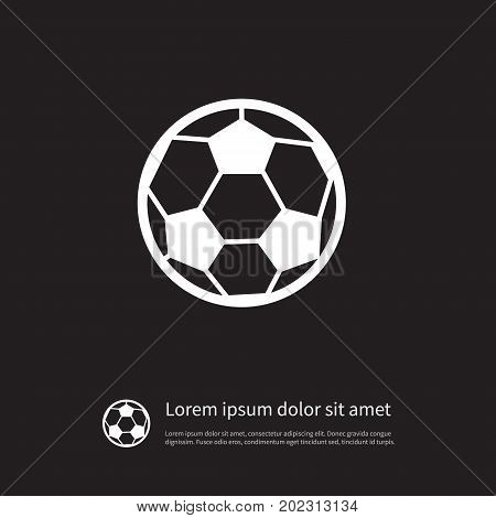 Match Vector Element Can Be Used For League, Match, Offside Design Concept.  Isolated League Icon.