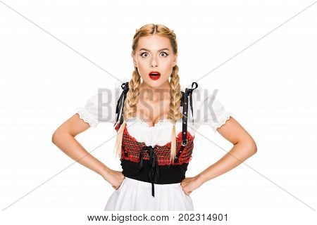 Shocked German Girl