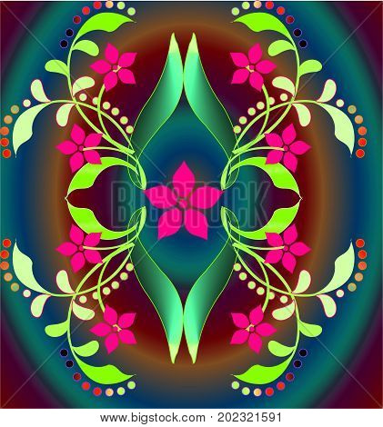 Abstract image, colorful graphics, tapestry,illustration, abstract background