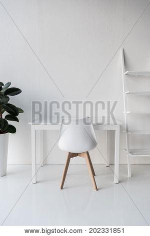 Stylish White Workplace
