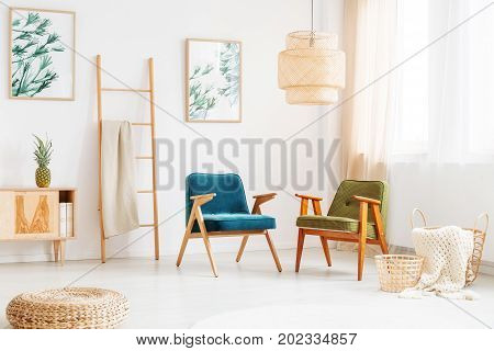 Bright Room With Vintage Chairs