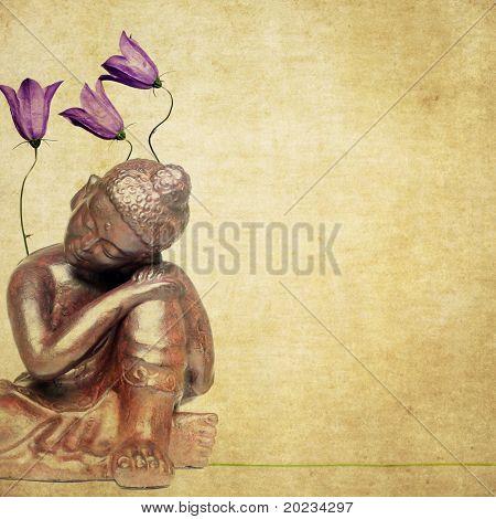 buddha and flora