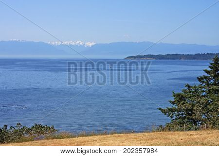 east coast of Vancouver Island in Canada