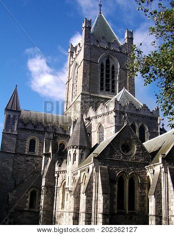 Picture of Christ Church Cathedral in Dublin Ireland