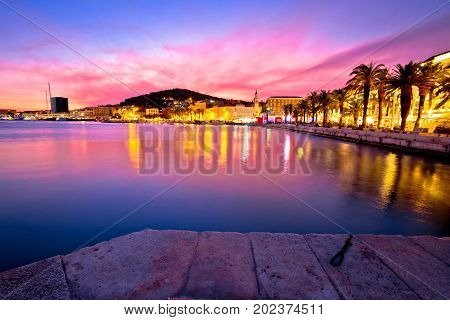 Split Waterfront Sundown Waterfront View