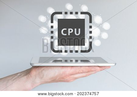Performance increase of CPU power for mobile computing devices like smart phone