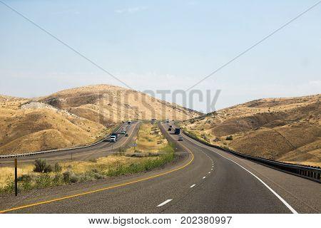 Highway 84 In Eastern Oregon