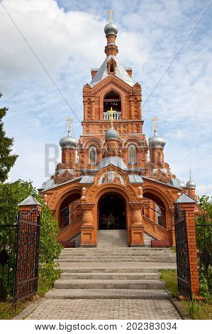 Cross-Exaltation Church in the village of Darna Istra district, Moscow region