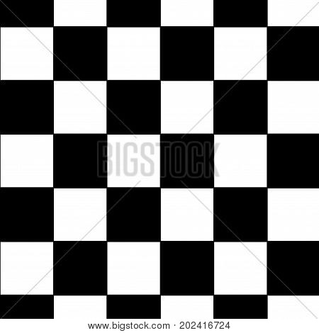 Black and white checkered. Auto Racing Chequered Flag. Close Up.