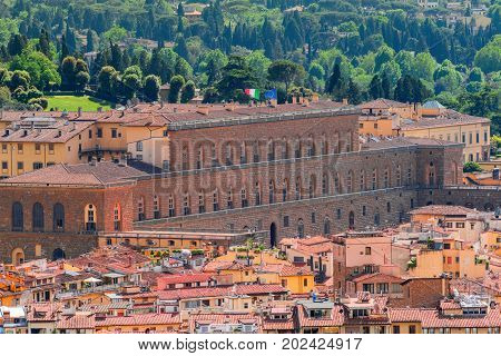 Pitti Palace(palazzo Pitti) - Is The Largest Of Palazzo Florence, An Outstanding Monument Of Archite