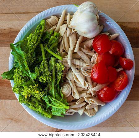 Italian cuisine: Close up