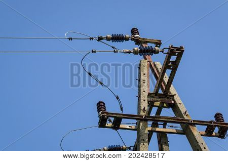 ENERGY POLE - element of electrical network