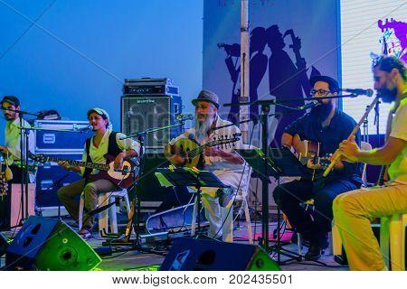 Klezmer Festival (30Th) In Safed (tzfat), Israel