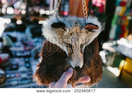 Foxy handbag Flea market Vernissage Yerevan, Armenia