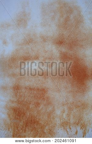 Close up of rusty metal as a background