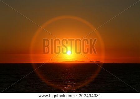 Adriatic Sunset / Summer Sunset in Croatia, Adriatic