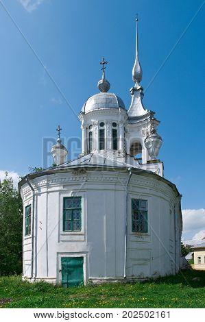 Orthodox church in Vologda Russia, russian travel